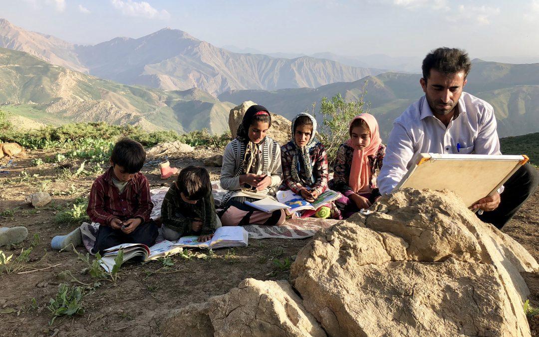 En transhumance avec un instituteur Iranien