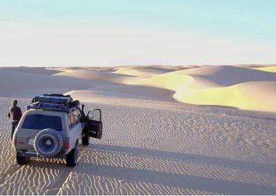 Mauritanie : terre de sable