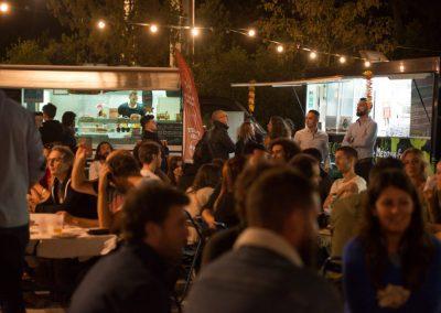 bar et foodtrucks sur le festival fu voyage et de l'aventure de Montpellier