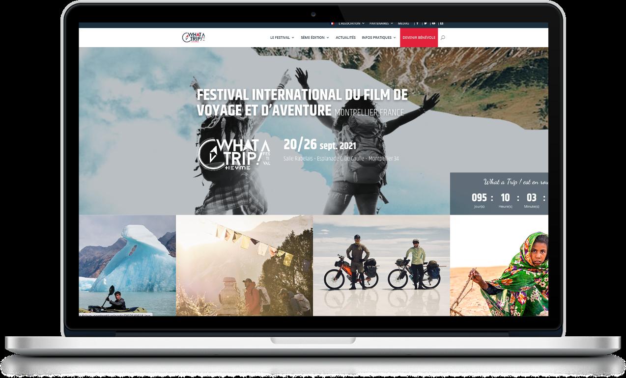projections en ligne festival voyage montpellier