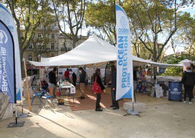 """La """"Blue zone"""" du festival : mission sensibilisation !"""
