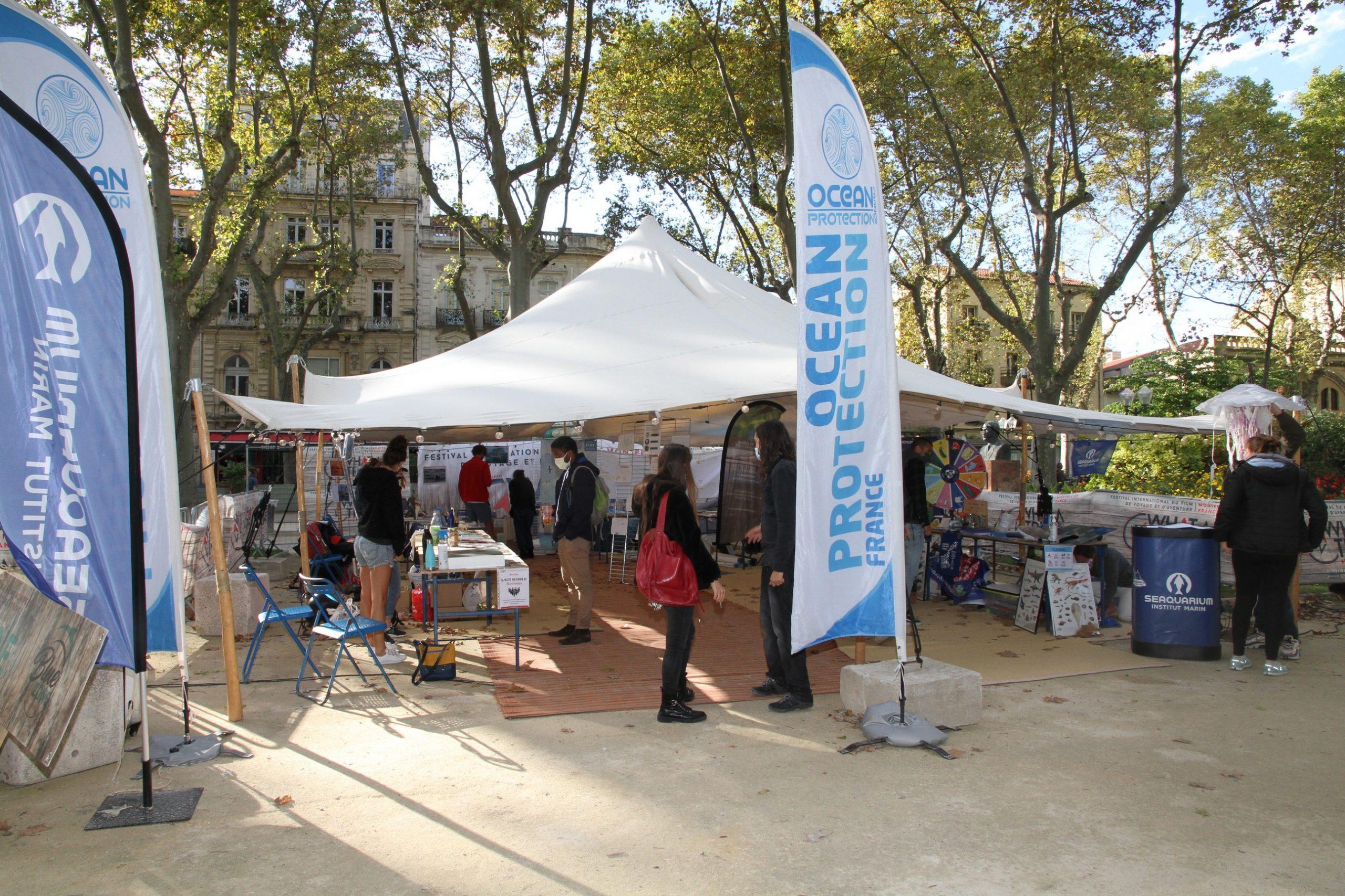 le festivalm du voyage de Montpellier engagé pour l'environnement