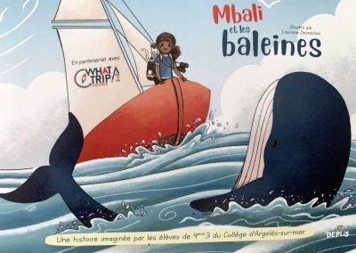 Mbali et les baleines : fruit du projet pédagogique du festival !