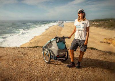 6700 km à pied contre la maladie